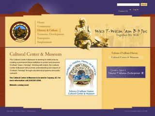 Tohono O'odham Nation Cultural Center & Museum