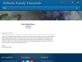 Willhelm Family Vineyards