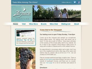 Zarpara Vineyard & Wine Tasting Room